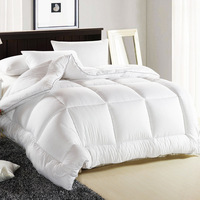 All Season King Size Quilted Down Alternative Comforter Hotel Collection Reversible Duvet Insert