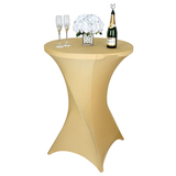 Cocktail Table Covers Stretch Spandex Cocktail Table Cover Cloth for Wedding,Banquet and Party